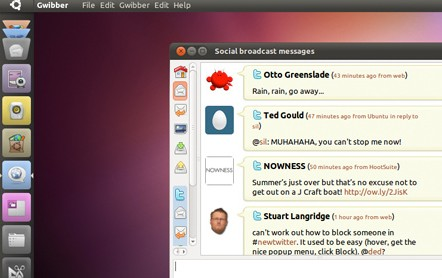Ubuntu 11.04 全新 Unity 介面